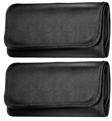 2 Pack ICE 6 Pocket Filter Wallet ideal for 49mm 52mm 55mm 58mm 62mm Storage Case