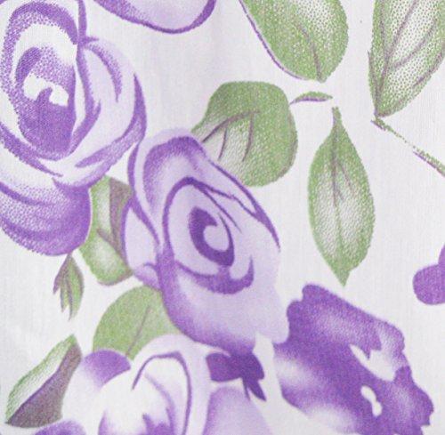 Ensoleillées Filles De Mode Robe Fleur Rose Pourpre Enfants De Fête Cravate Double Arc Violet Robe D'été