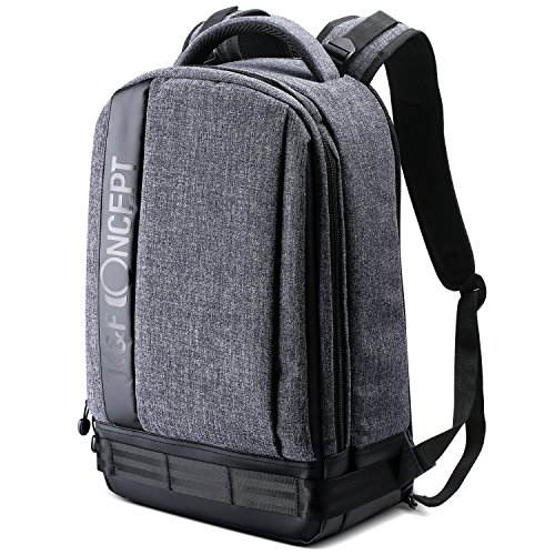 K&F Concept Professional Camera Backpack Large Size Photography Bag Compatible with Camera DSLR