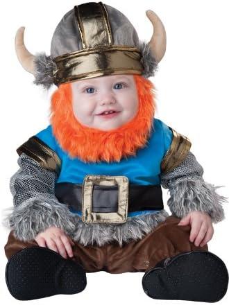 Disfraz de vikingo barbudo para bebé-Lujo 0-6 meses (50-68): Amazon.es: Juguetes y juegos