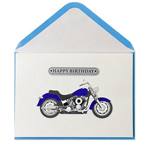 Papyrus Handmade Birthday Motorcycle Card
