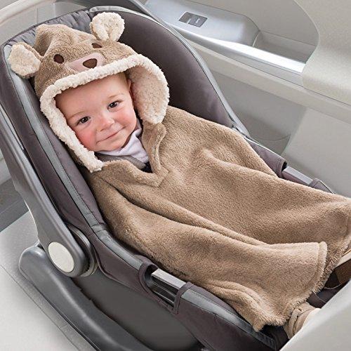 Amazon.com : Summer Infant Car Seat Coat and Poncho, Cuddly Bear :