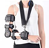 Medical Orthopedic Elbow- joint,Wrist sprain, Arm fracture sling shoulder Adjustable Protector Extremity Fracture£¬Rehabilitation brace , B , R