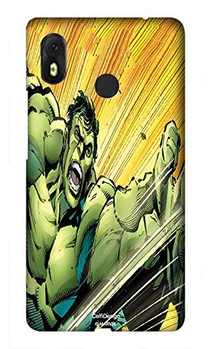 (CelfiDesign Official Merchandise Marvel Incredible Hulk Back Cover Case for Infinix Hot S3 (Multicolor))