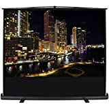 """ARKSEN 72"""" Inch (4:3 HD) Freestanding Pull Up Projector Screen Stand Portable Home Theater Aluminum Case w/Carrying Handle"""