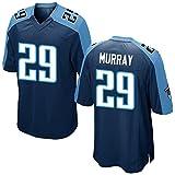 Mens Murray DeMarco #29 Football Jersey Game Jersey Navy