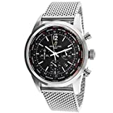 Breitling Men's AB0510U6/BC26 Pilot Analog Display Swiss Automatic Silver Watch
