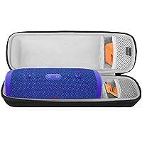 BOVKE Shockproof Carrying Case for JBL Charge 3 Waterproof Portable Wireless Bluetooth Speaker