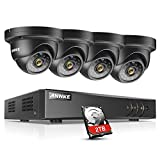 ANNKE H.264+ 5-IN-1 8 Channel 1080P Lite CCTV DVR Recorder and 2TB Hard Drive with 4PCS 1800TVL 960P Weatherproof Dome Surveillance Camera,Email Alarm with Image, Free App(ANNKE Vision) Review