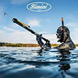 H2O Gear Spearfishing Speargun with Rubber Sling by SO Dive with Band, line & Spear Shaft - 18 Inches