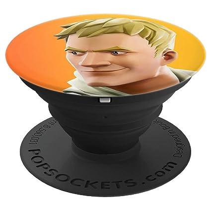 Amazon.com: Fortnite Jonesy (naranja) popsockets soporte ...