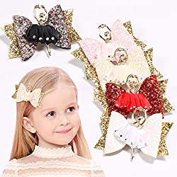Rhinestone Barrettes Hairpins For Kids
