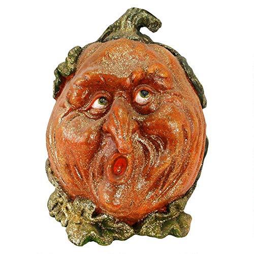 History Of Halloween Jack O Lantern (Design Toscano Pumpkin Patch Jack-O-Lantern Garden Statue: Scamp - Pumpkin)