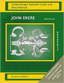 John Deere 6081H Gen Set RE505817: Turbocharger Rebuild