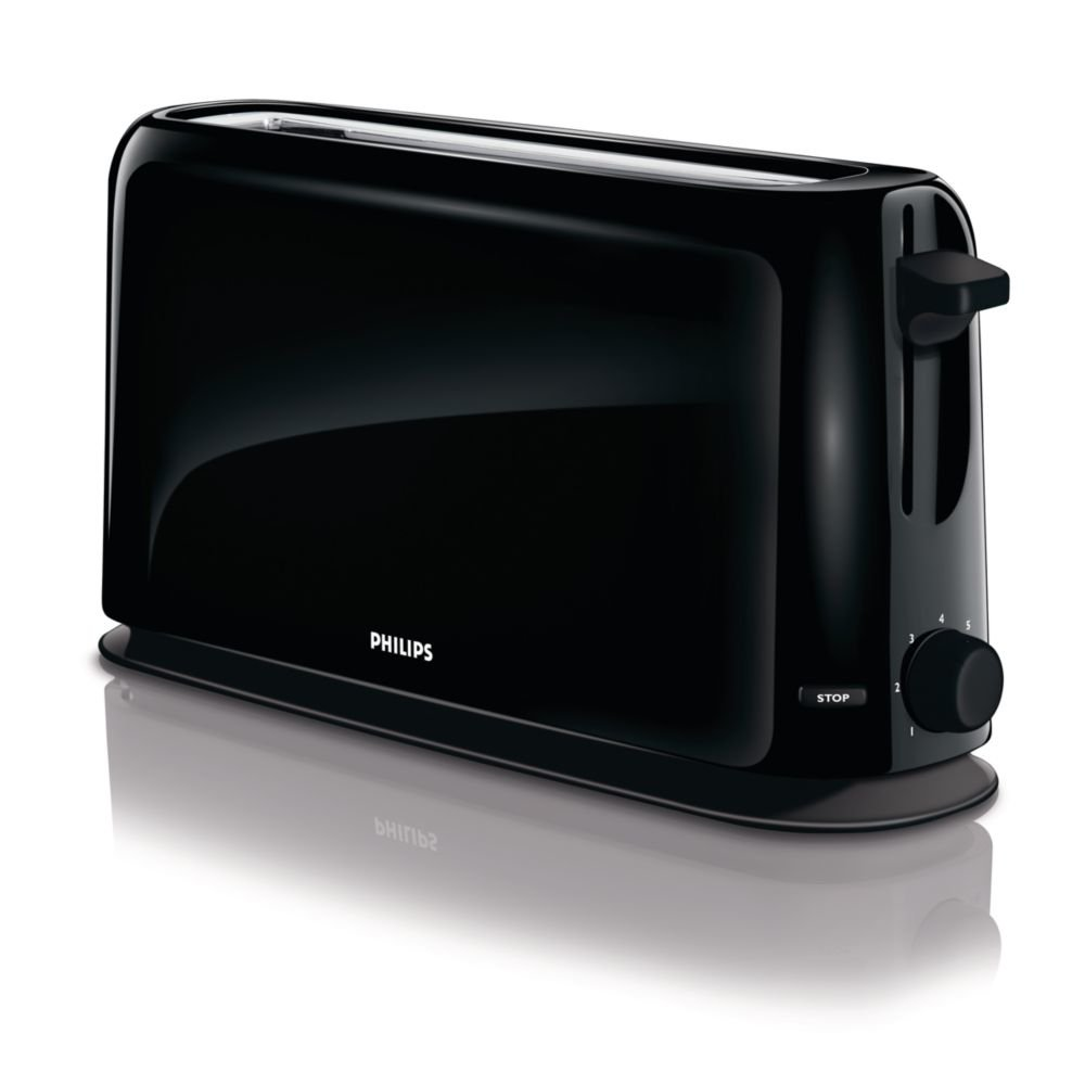Philips Daily Collection HD slice s W Negro Tostador slice s Negro