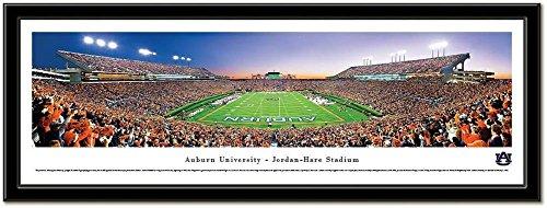 Hare Framed Print (Auburn Tigers Jordan-Hare Framed Panoramic Stadium Print)