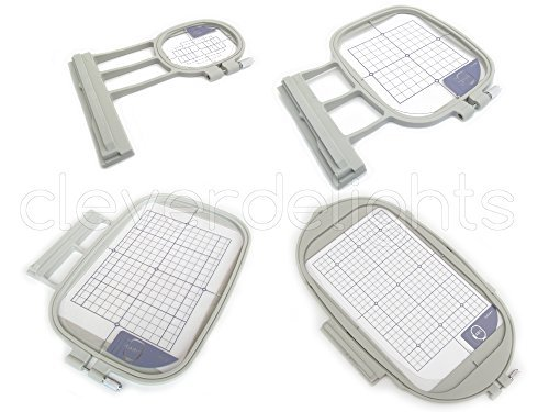 Top brothers embroidery machine hoops for 2019