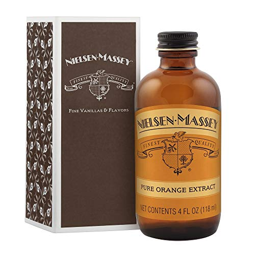 Nielsen-Massey Pure Orange Extract, with gift box, 4 ounces (Massey Pure Orange Extract)