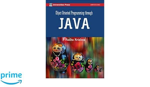 Object Oriented Programming Through Java P Radha Krishna Pdf