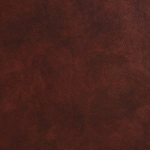 Sienna Saddle Leather (G479 Sienna Brown Small Leather Grain Upholstery Grade Recycled Leather (Bonded Leather) By The Yard)