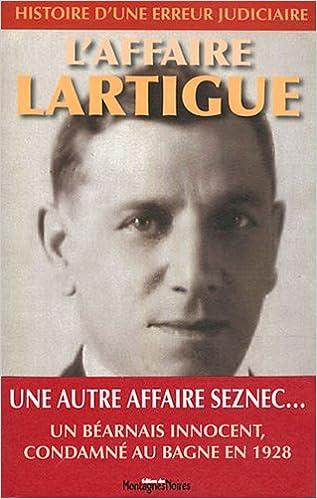Livre L'affaire Lartigue pdf epub
