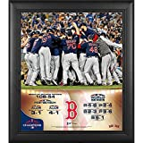"""Sports Memorabilia Boston Red Sox 2018 MLB World Series Champions Framed 15"""" x 17"""" Collage - MLB Team Plaques and Collages"""