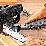 Visa Store HILDA Chain Saw Sharpening lawn mower blade sharpener chainsaw sharpener dremel 8220 Attachment Sharpener Guide Drill Adapter