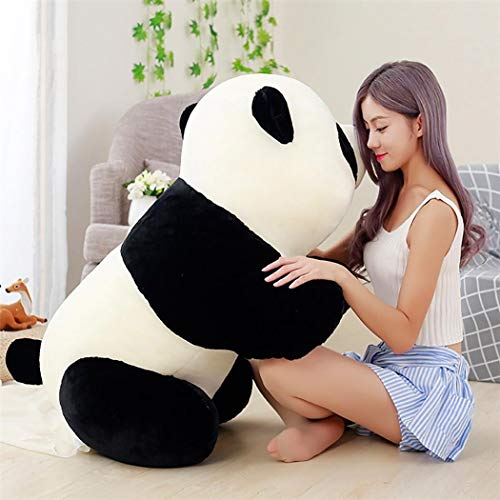 LEANO Cute Panda Shape Plush Toy Soft Stuffed Animal Doll Home Decoration Stuffed Animals & Teddy Bear from LEANO