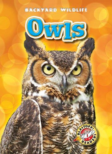Owls (Blastoff! Readers: Backyard Wildlife) (Blastoff Readers. Level 1)