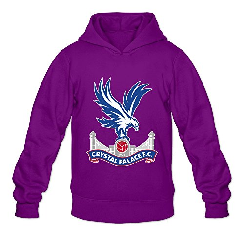 TBTJ Men's 2016 Premier League Crystal Palace Football Club Heavy Blend Hooded Sweatshirt X-Large