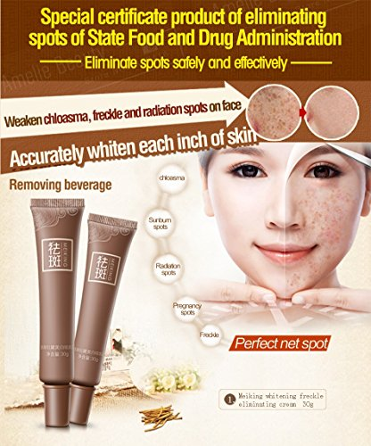 Price comparison product image Dark Spot Corrector Skin Whitening Fade Cream Lightening Blemish Removal Serum Reduces Age Spots Freckles Melasma Face Cream