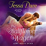 img - for The Wallflower Wager: , Library Edition (Girl Meets Duke) book / textbook / text book