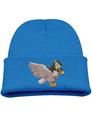 Eagle Spreading Wings Unisex Baby Children Stretchy Knit Beanie Hat