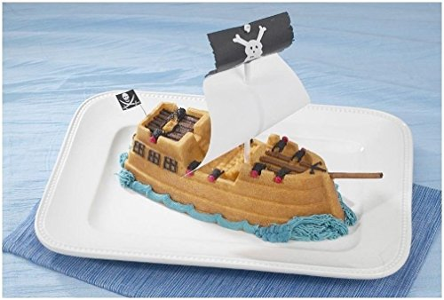 011172592248 - Nordic Ware Pro Cast Pirate Ship Cake Pan carousel main 3