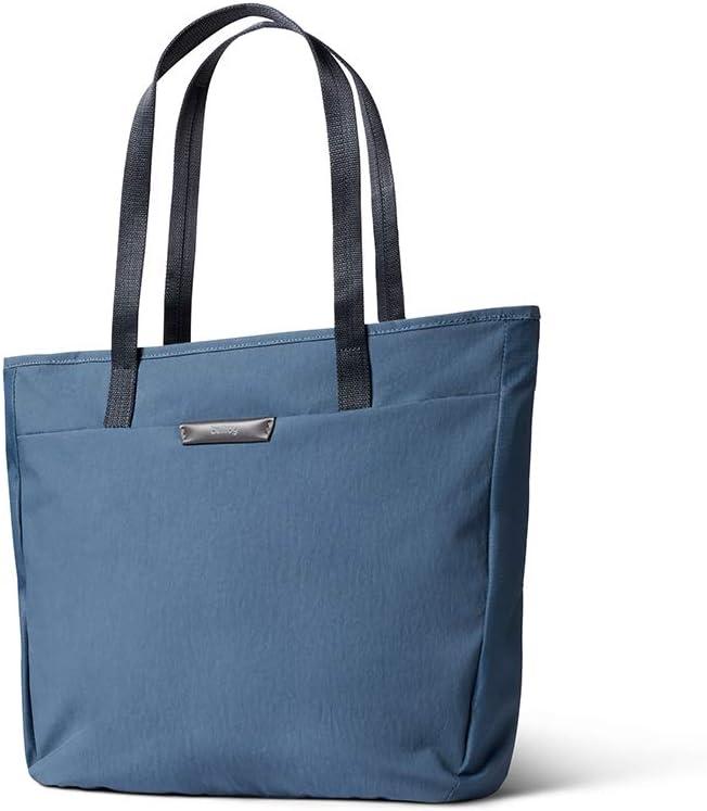Bellroy Tokyo Tote (Unisex Laptop Tote Bag, Zipper Closure) - Marine Blue