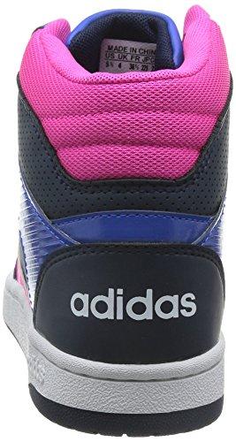 Montante Rose adidas Chaussures Femme VS Bleu Hoopster 5q1wBq