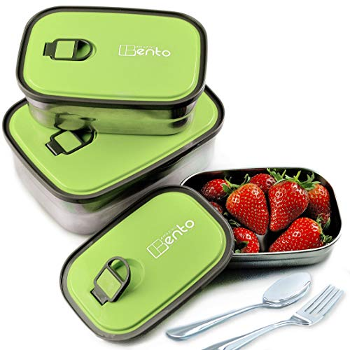 Best Stainless Steel Bento Lunch Box for Kids & Adults