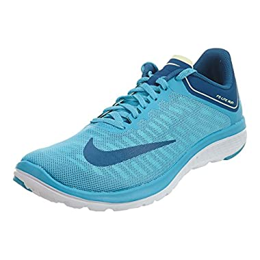 3503598d1b7 Nike Womens WMNS FS LITE Run 4 Chlorine Blue Industrial Blue Size 8