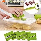 OMAGAX Adjustable Mandoline Slicer Vegetable Slicer Cutter...