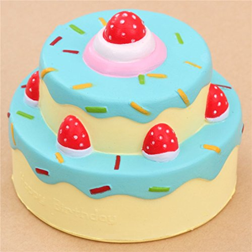 Review Cute happy birthday cake