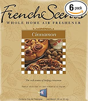 Cinnamon French Scents Whole Home Air Freshener (6 Pack)