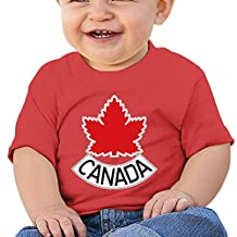 LDMH Baby's Team Canada T Shirt For 6-24 Mouths