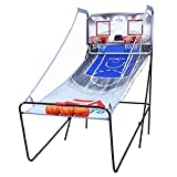 MRT SUPPLY 2-Player Indoor Basketball Arcade Game with Ebook