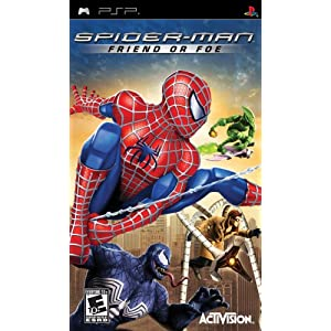 Spiderman: Friend or Foe - Sony PSP