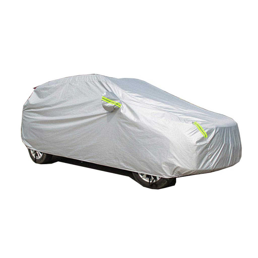 Tama/ño : 2018 QRFDIAN Cubierta del coche Cubierta del coche del Nissan Qashqai Cubierta especial Cubierta del coche del aislamiento a prueba de lluvia del todoterreno SUV