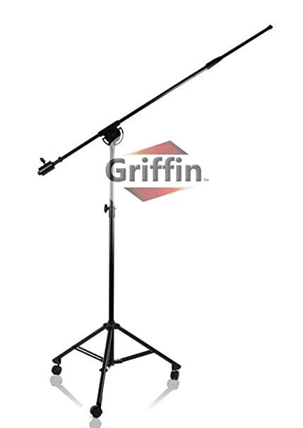 Soporte de Trípode/soporte para micrófono MIC de estudio con ruedas ruedas Griffin