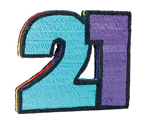 21st Birthday Pinata   B007GGR4KU