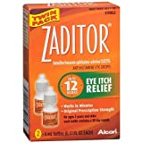 Zaditor Antihistamine Eye Drops Twin Pack (2 bottles - 0.17 fl oz each) 0.34 fl o by Zaditor