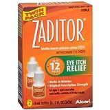 Zaditor Antihistamine Eye Drops Twin Pack