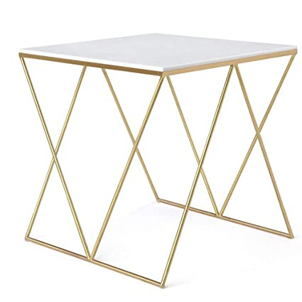 0b36c22d60de2 Image Unavailable. Image not available for. Color  Folding desk Coffee Table  Square Simple Tea Table Multifunctional Wrought Iron Small ...
